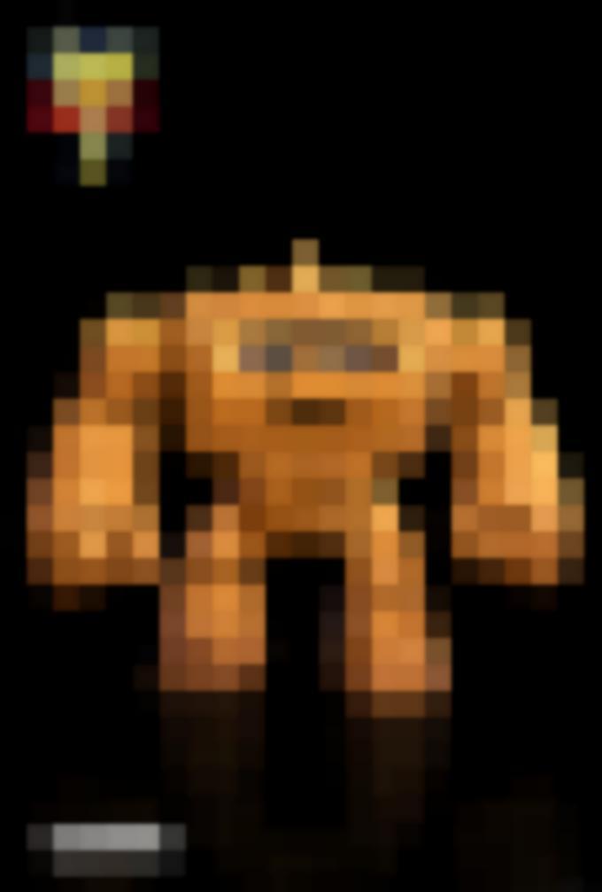 Chunk darà una bella scossa al vostro mondo! Questa pantagruelica creatura indossa una corazza protettiva sulle spalle, mentre i suoi feroci pugni sono pronti per distruggere qualunque nemico si metta sulla sua strada.