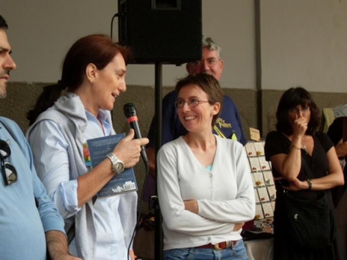 Francesca Cosi e Alessandra Repossi