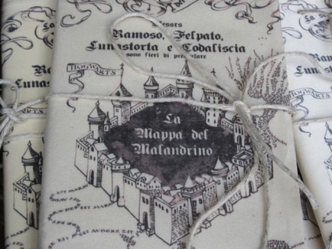 La mappa del Malandrino