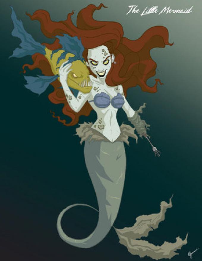 Ariel, la Sirenetta, secondo Jeffrey Thomas