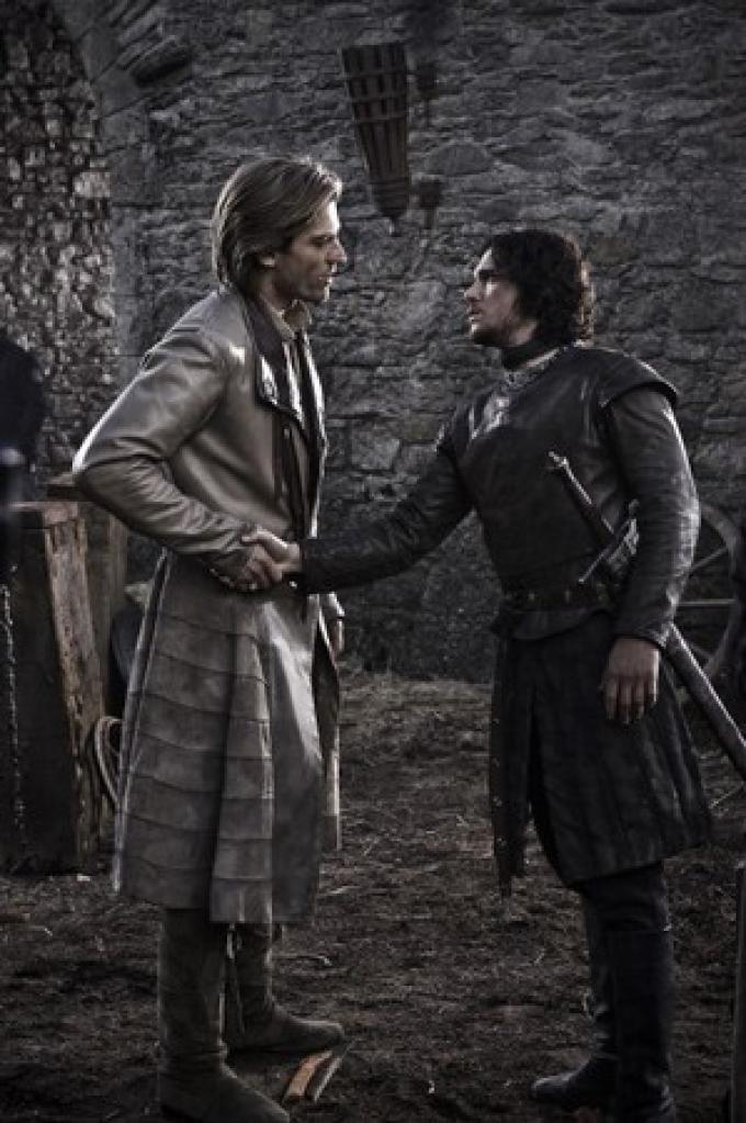Jaime Lannister e Jon Snow