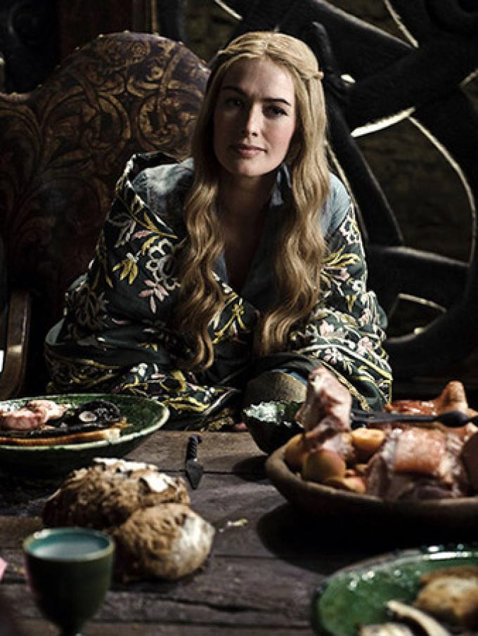 Lena Headey nei panni della regina Cersei