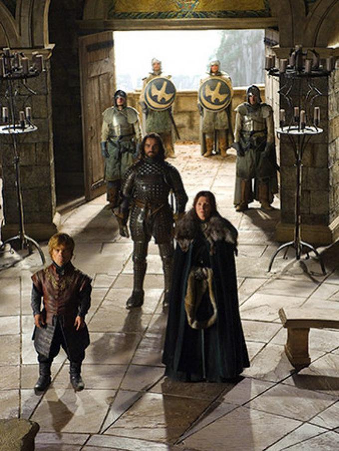 Una scena ambientata a Nido dell'Aquila, la dimora di casa Arryn