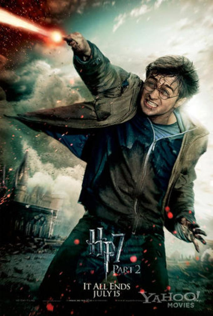 L'action poster dedicato a Harry Potter/Daniel Radcliffe