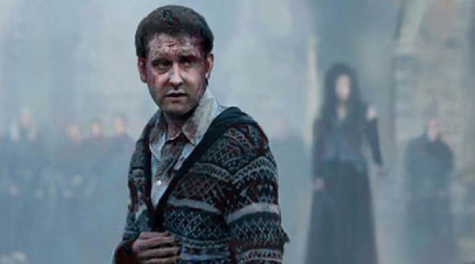 Neville ferito in battaglia.