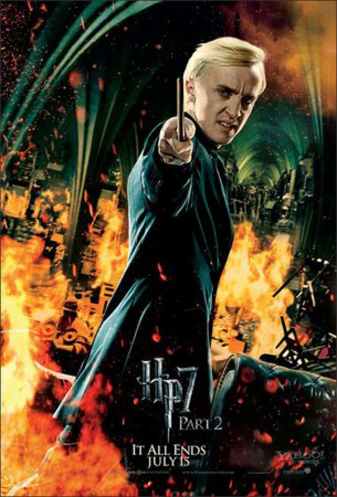 Draco Malfoy/Tom Felton