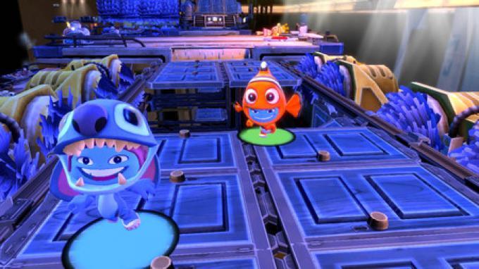Stitch e Nemo in azione!