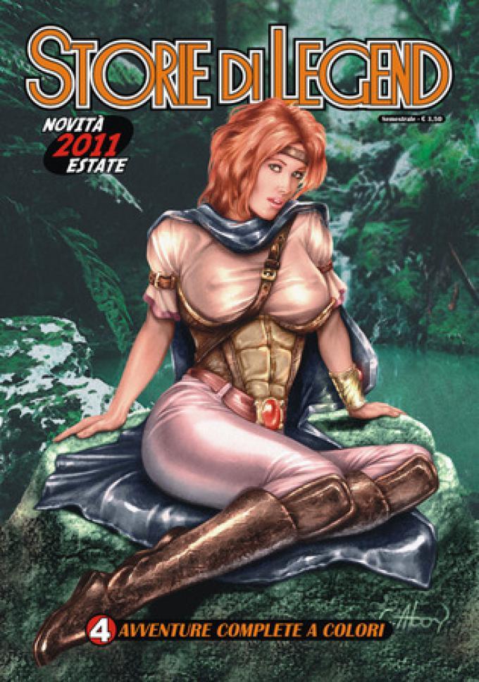 La copertina di Storie di Legend