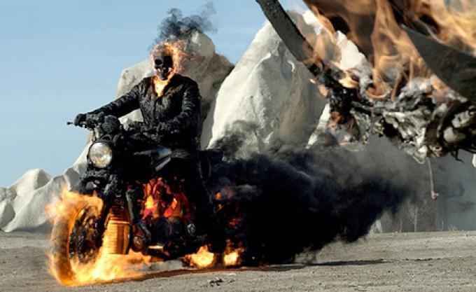 Il nuovo Ghost Rider.