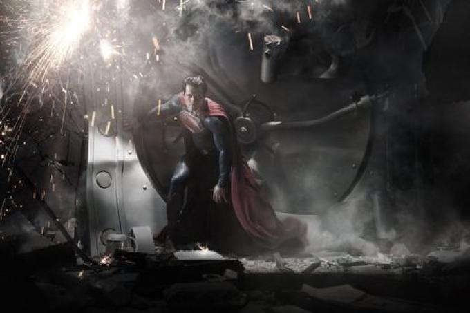 La prima immagine ufficiale di Henry Cavill nei panni di Superman