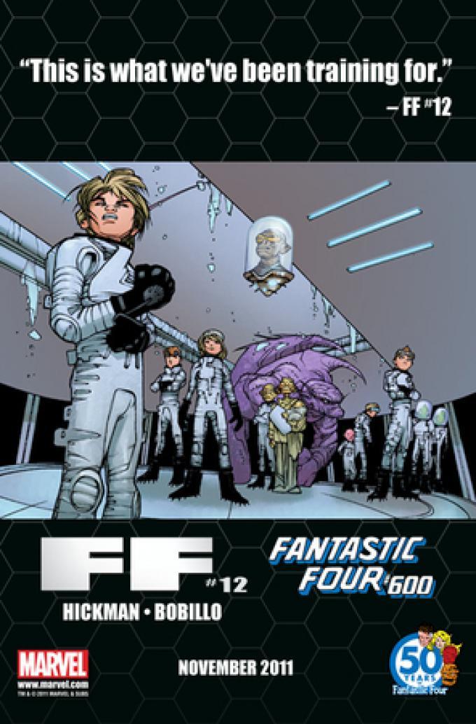 Fantastic Four #600: Fondazione Futuro.
