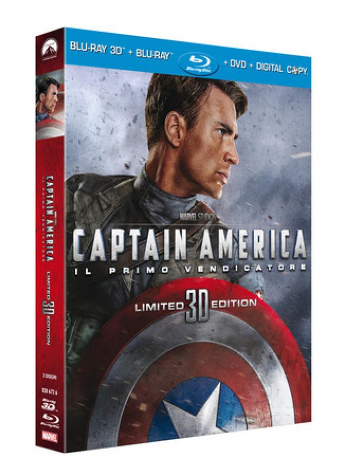 Capitan America. Blu-ray 3D