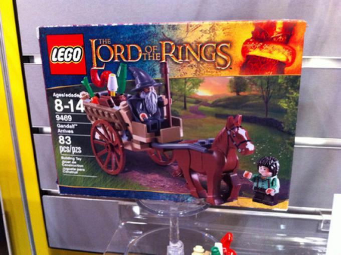 La scatola de L'Arrivo di Galdalf