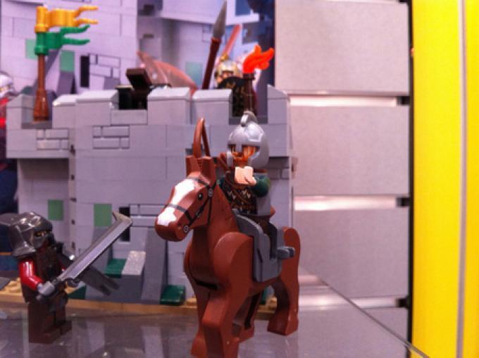 Theoden a cavallo