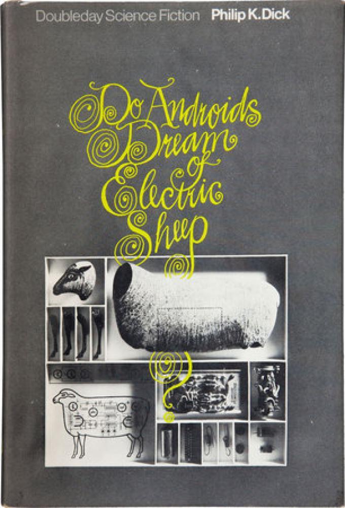 """Prima edizione del 1968 di """"Do Androids Dream of Electric Sheep?"""" di Philip K. Dick, autografata, venduta nel 2011 per 12.500 $."""
