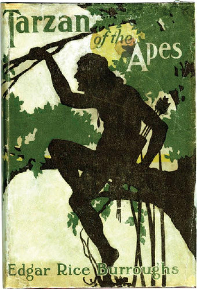 Tarzan delle scimmie di Edgar Rice Burroughs. La prima edizione del 1914 è arrivata a 20.912 $.