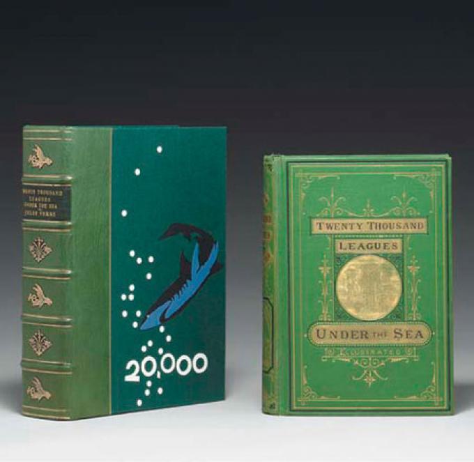 Vale 24.000 $ l'edizione del 1872 di Ventimila leghe sotto i mari, di Jules Verne.