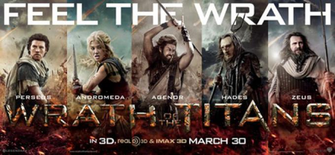 Wrath of The Titans - Poster