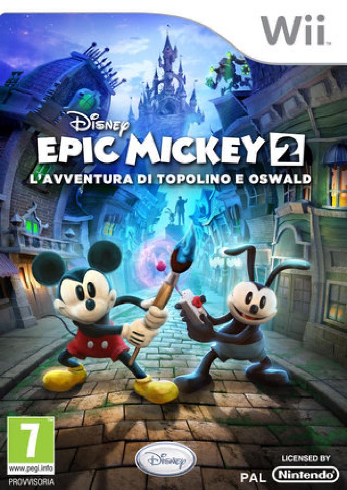 Disney Epic Mickey 2: L'avventura di Topolino e Oswald. Nintendo Wii.