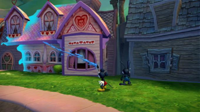 Epic Mickey 2. Screenshot (Wii)