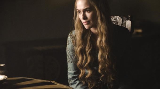 Cersei Lannister (Lena Headey), fotografata da Helen Sloan.
