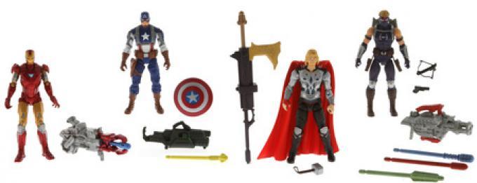 Le action figures di The Avengers!