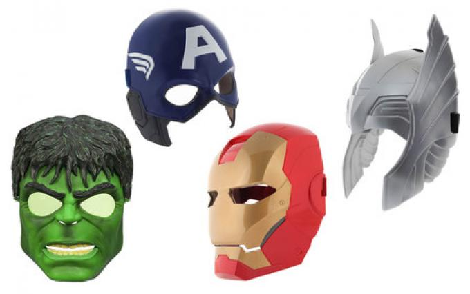 Le maschere di The Avengers!