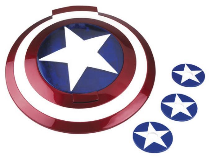 Lo scudo di Capitan America!