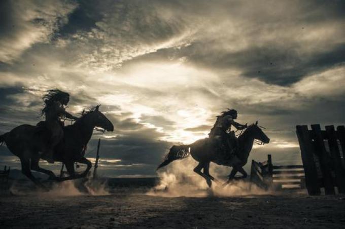 Comanche al galoppo in The Lone Ranger