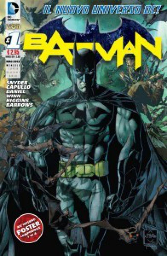 Batman 1. Variant Gold