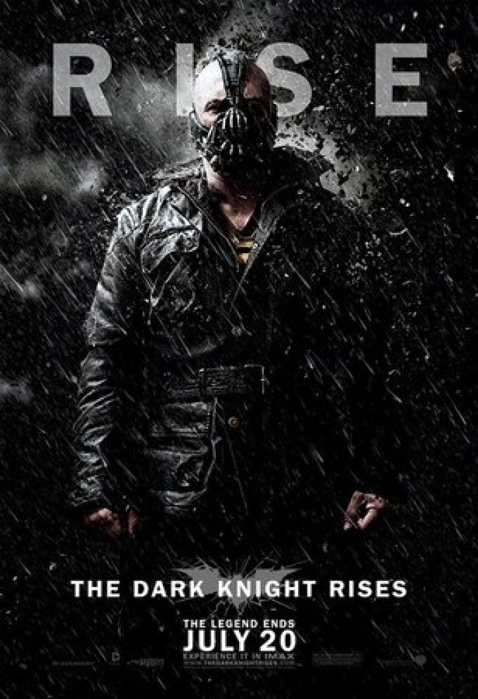 Teaser poster con Bane (Tom Hardy)