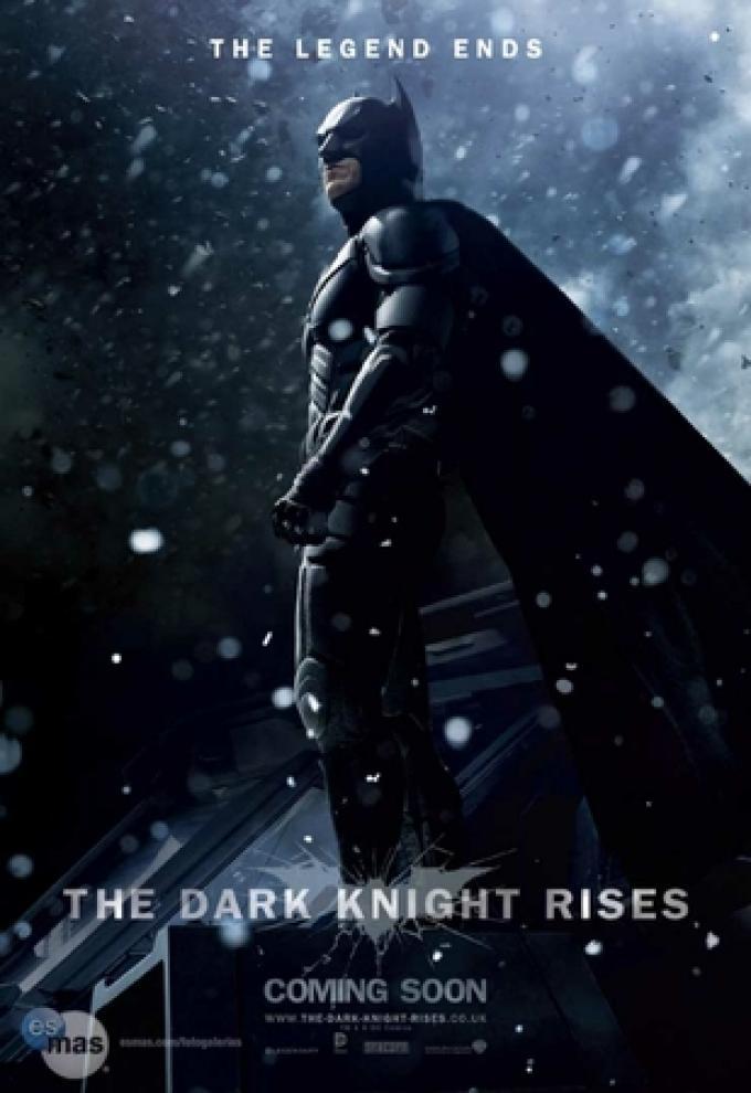 Teaser poster con Batman (Christian Bale)