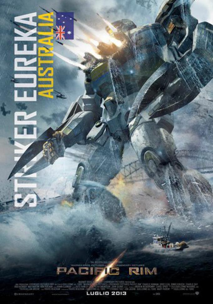 Da Pacific Rim: Striker Eureka, il character poster