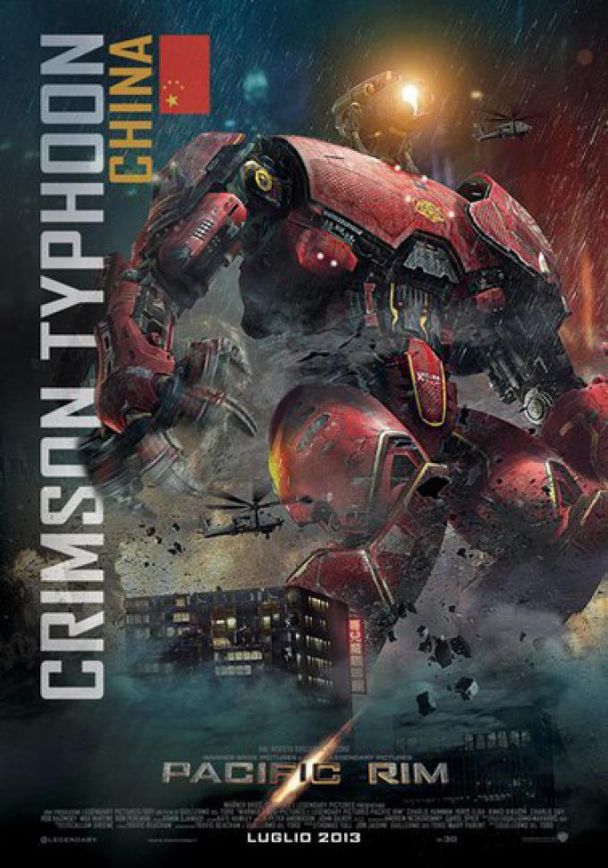 Da Pacific Rim: Crimson Typhoon, il character poster
