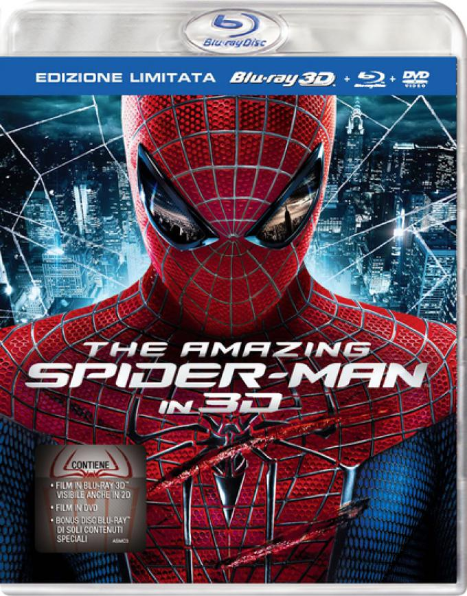 The Amazing Spider-Man - Cover versione limitata BD3D+BD+DVD