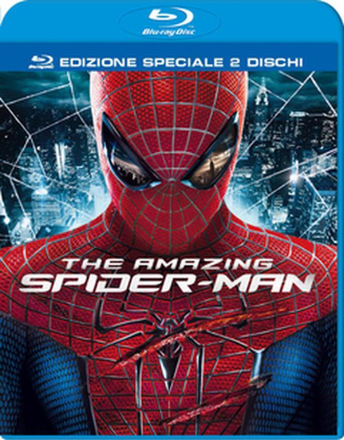 The Amazing Spider-Man - Cover versione  BD 2 dischi