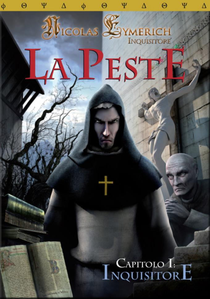 Cover DVD Box di  Nicolas Eymerich, Inquisitore: la Peste - Capitolo I 'Inquisitore',