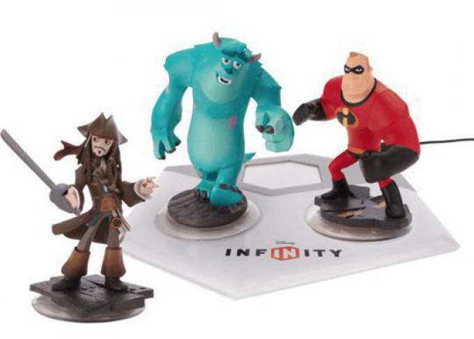 Jack Sparrow, Sulley e Mr. Incredible