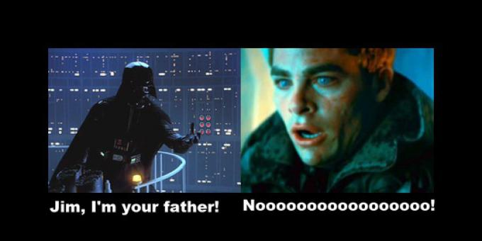 Jim, I'm your father