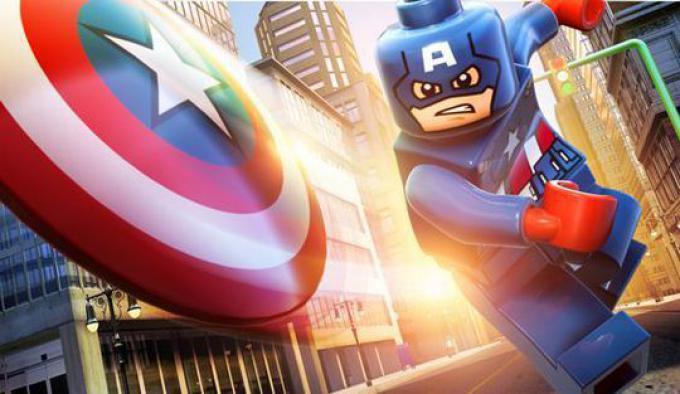 LEGO Marvel Super Heroes: Capitan America