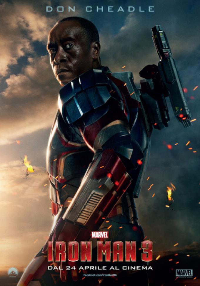 Rhodey è il collegamento tra le Stark Industries e l'U.S. Air Force. È uno degli amici più fidati di Tony Stark e, il più delle volte, affronta con pazienza il genio impulsivo. Rhodey possiede una nuova armatura di War Machine.