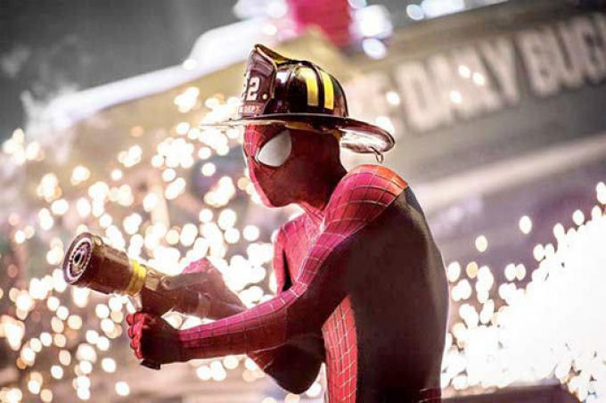 Spider-Man pompiere