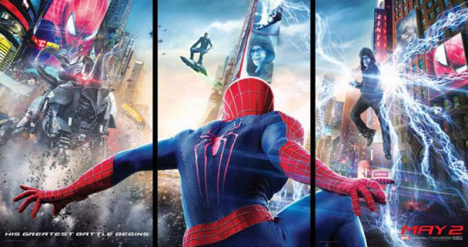 Il poster di The Amazing Spider-Man 2