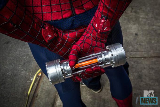 I lanciaragnatele di The Amazing Spider-Man