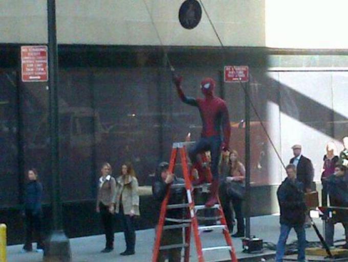 Spider-Man in azione!