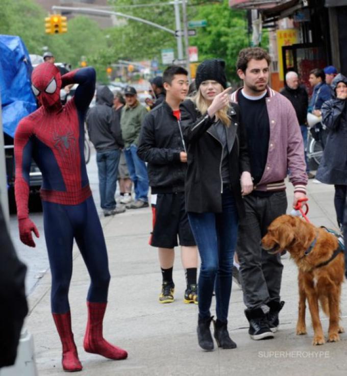 Spider-Man ed Emma Stone