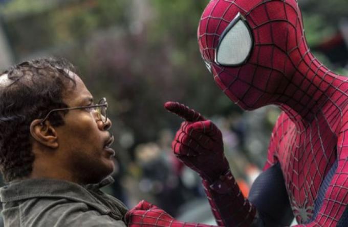 Jamie Foxx in The Amazing Spider-Man