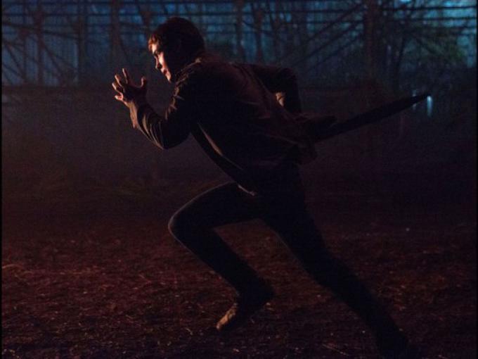 Logan Lerman in una scena da Percy Jackson e il mare dei mostri