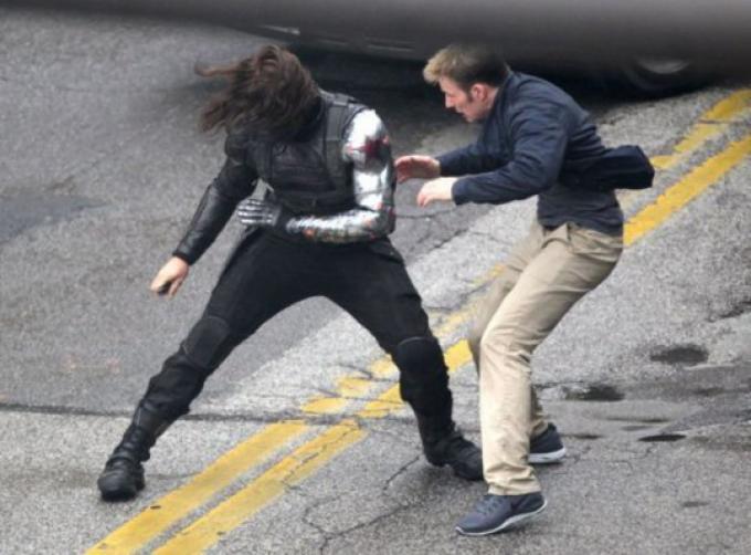 Steve Rogers contro il Soldato d'Inverno