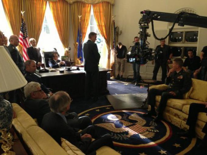 Il nuovo scatto di Singer: il presidente Nixon nello studio ovale